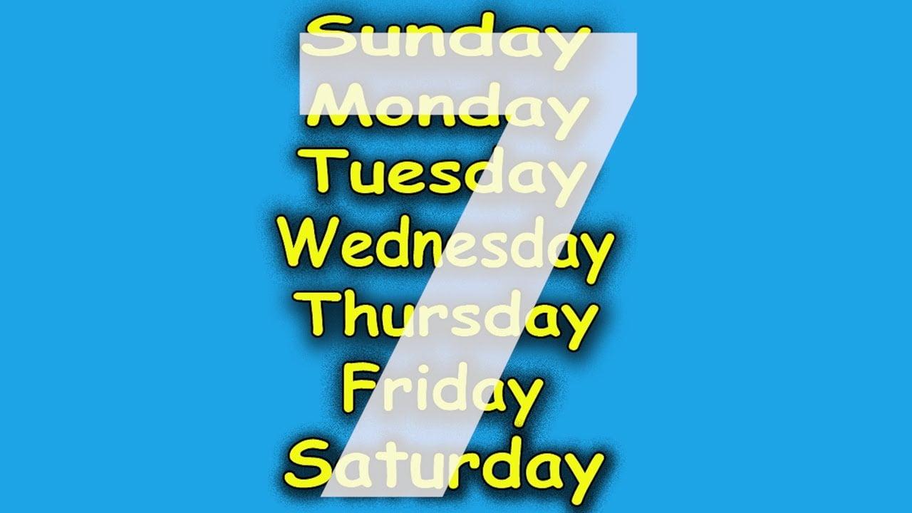 सप्ताह में सात दिन ही क्यों? why 7 days of week in Hindi