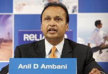 Anil Ambani, chairman of Reliance Power Ltd.,