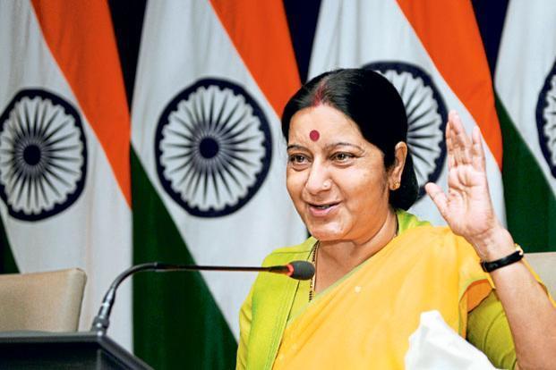 Sushma Swaraj visa to POK osama ali treatment in india