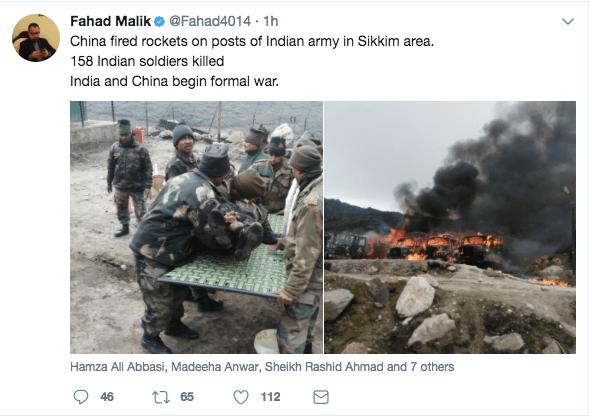 china attacks india