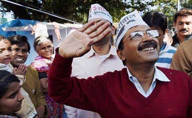 aap win bavana by election arvind kejriwal